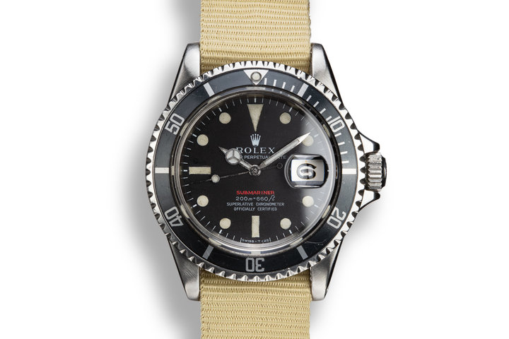 1969 Rolex Red Submariner 1680 with MK II Dial photo