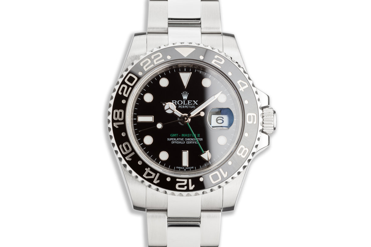 2014 GMT-Master II 116710LN Black Bezel with Box and Card photo, #0