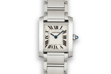 2004 Cartier Ladies Tank 2384 with Box photo