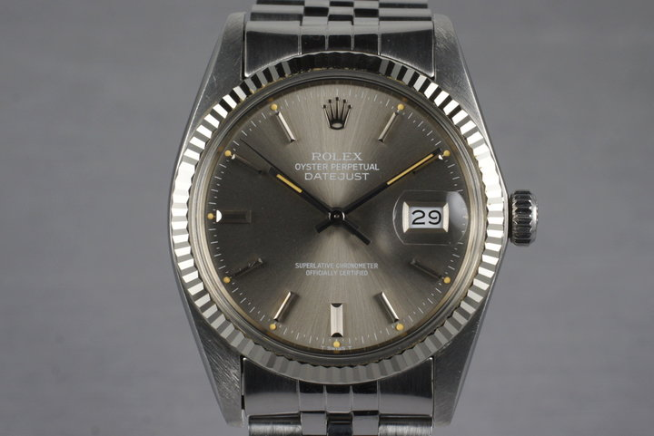 1981 Rolex DateJust 16014 with Gray Dial photo