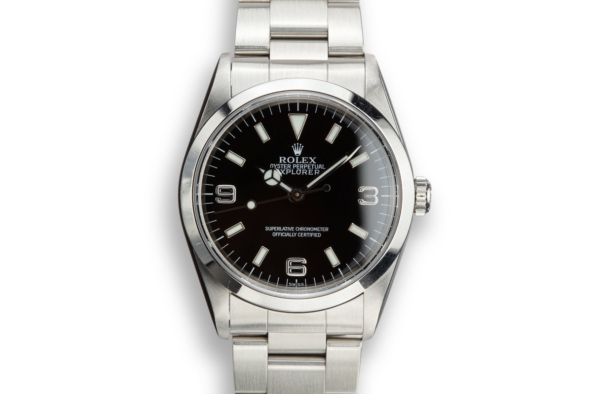"1999 Rolex Explorer 14270 ""SWISS"" Only Dial photo, #0"