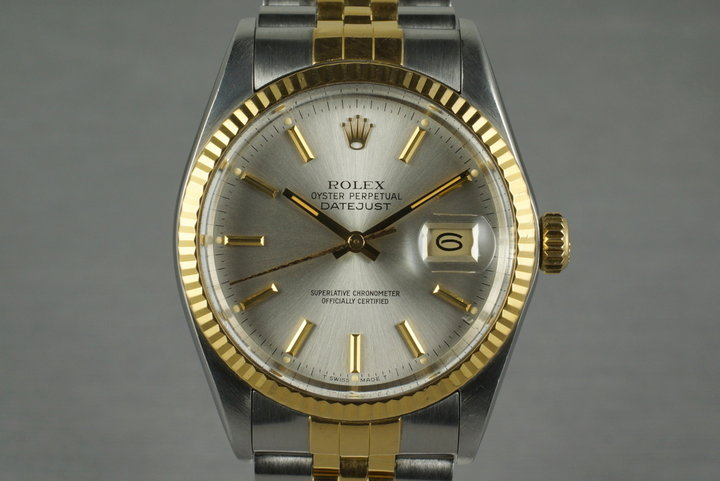 1984 Rolex Two Tone DateJust 16013 photo