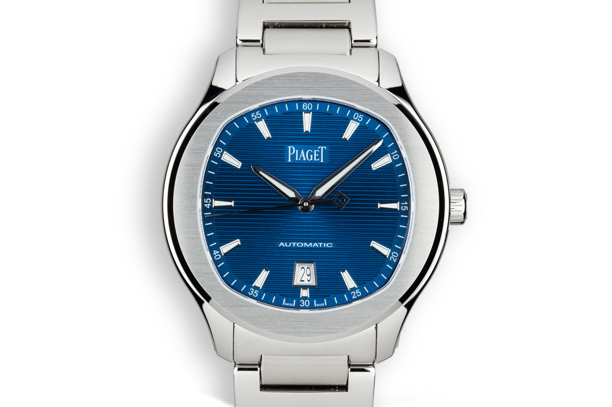 2018 Mint Piaget Polo S G0A41002 Blue Dial with Box and Papers photo, #0