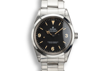 1967 Rolex Explorer 1016 Matte Dial with Papers photo