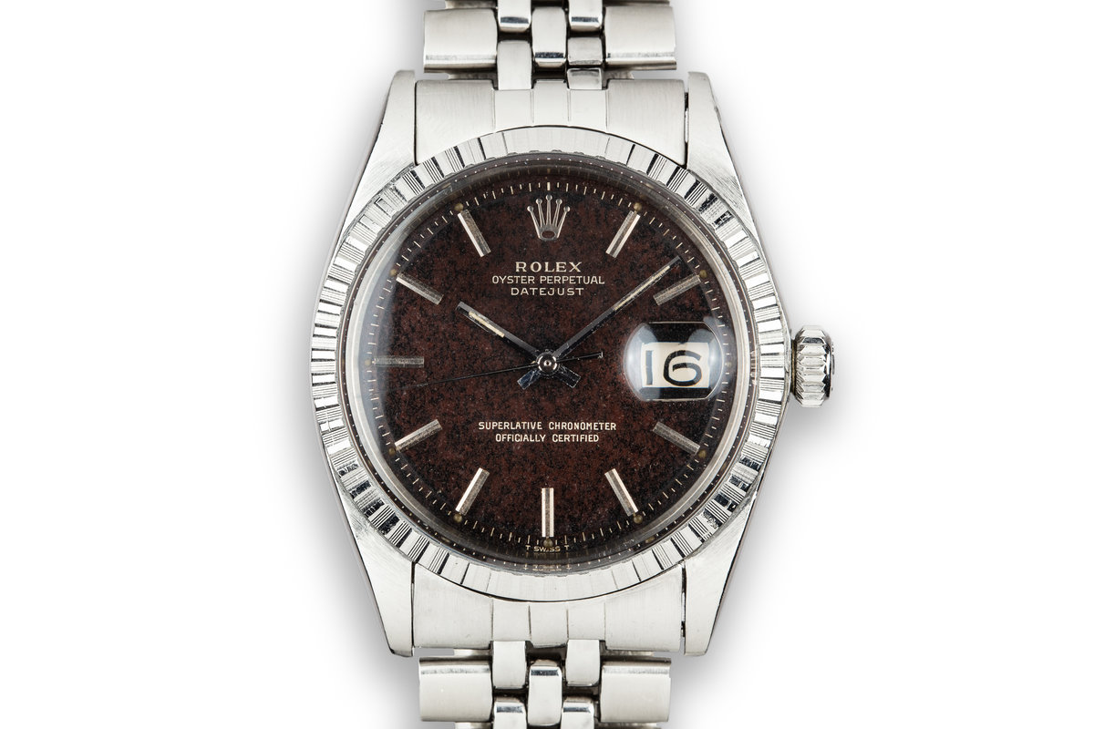 1968 Rolex DateJust 1603 with Tropical Gilt Dial photo, #0