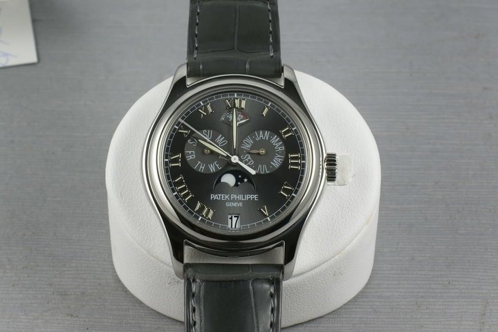 Patek Philippe Platinum Automatic Annual Calendar with Moon Phase 5056P photo