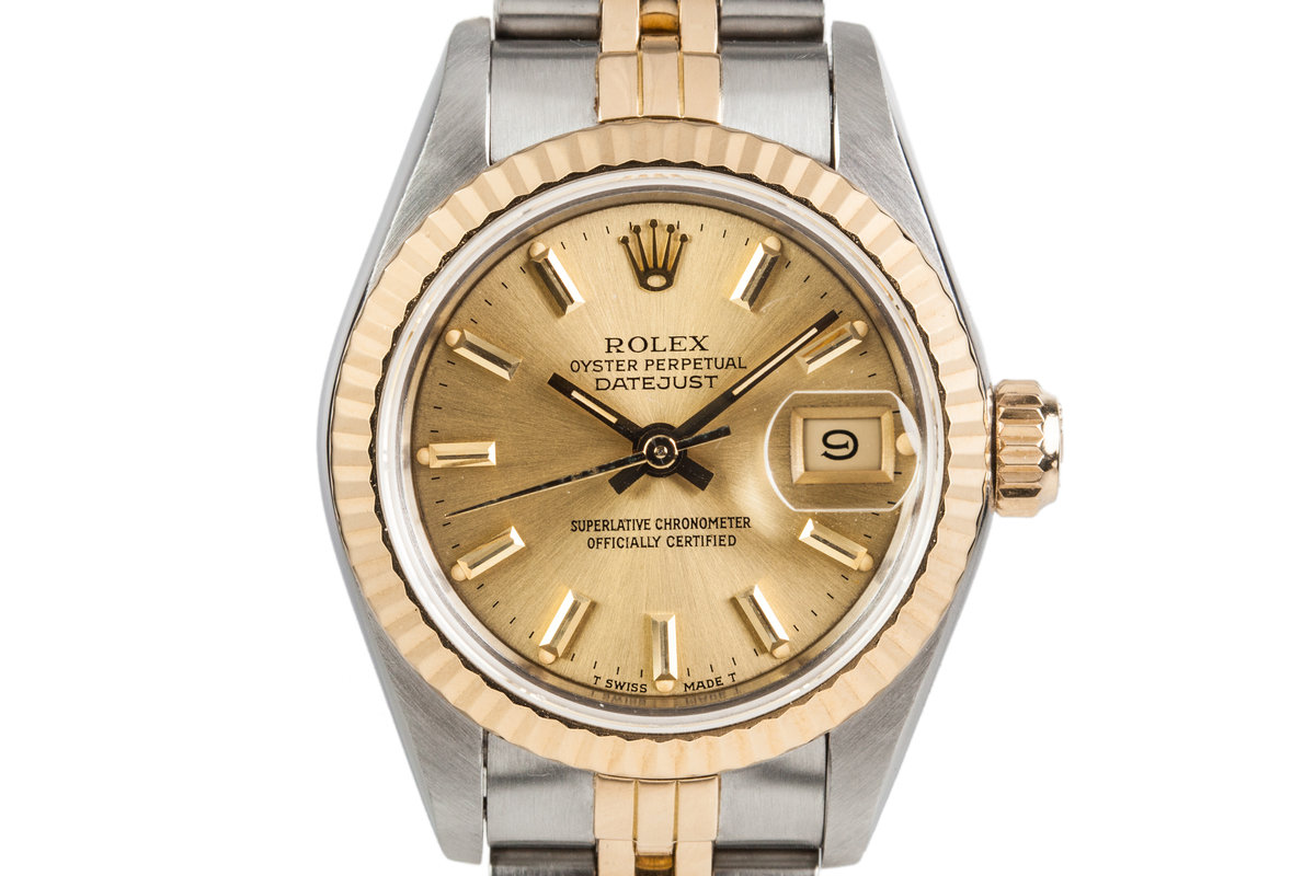 1986 Rolex Ladies Two-Tone Datejust 69176 photo, #0