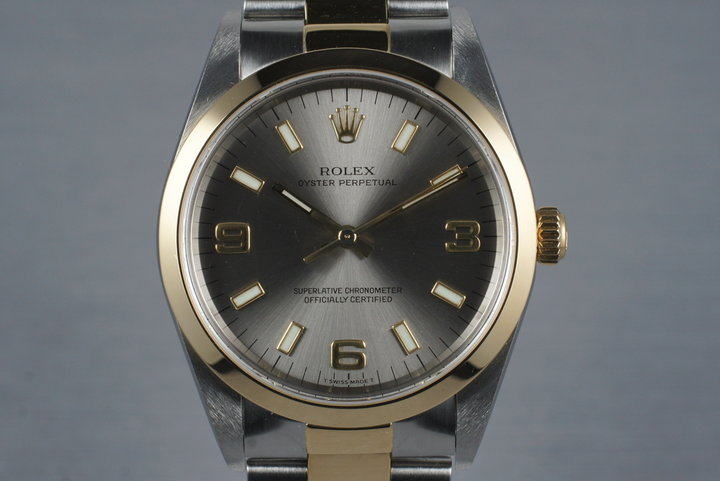 1999 Two Tone Rolex Oyster Perpetual 14203 photo