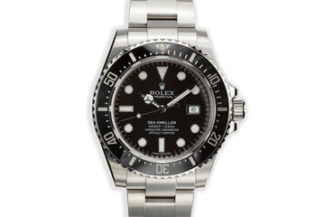 2014 Rolex Sea-Dweller 116600 with Box and Papers photo