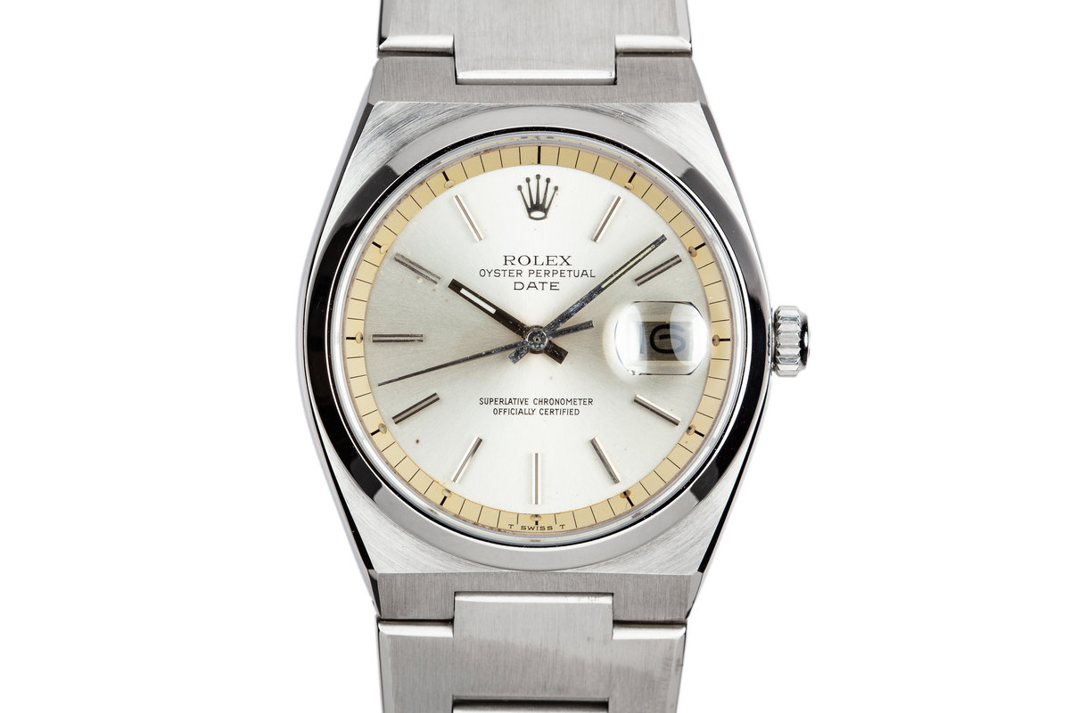 1975 Rolex Oyster Date 1530 Silver Dial photo, #0