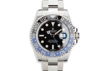 """2018 Rolex GMT-Master II 116710BLNR """"Batman"""" with Box and Card photo"""