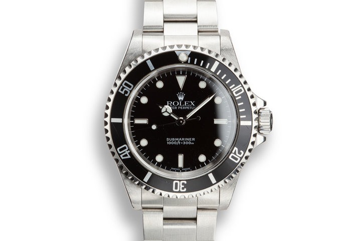 1999 Rolex Submariner 14060M photo