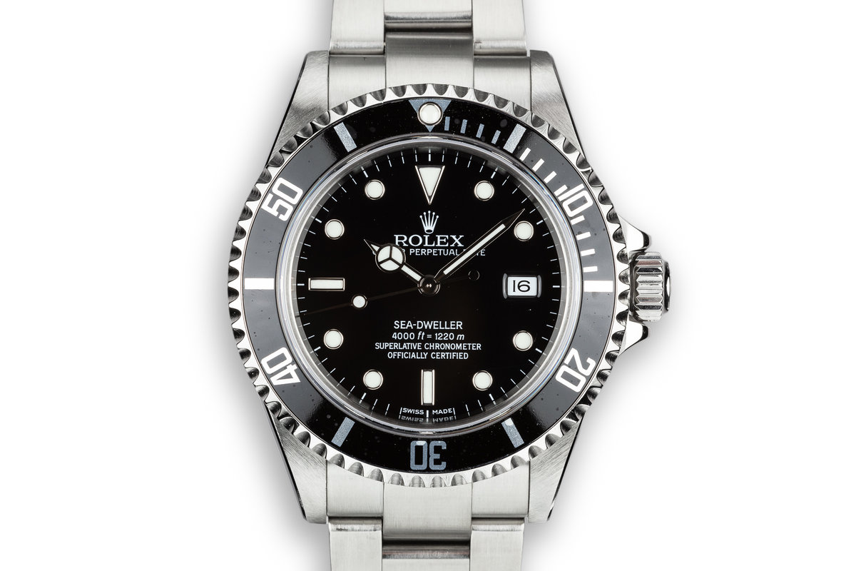 2005 Rolex Sea-Dweller 16600T photo, #0