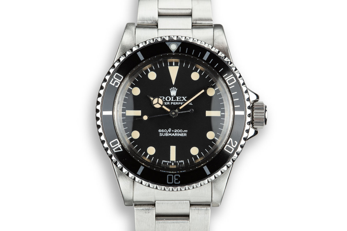 "1978 Rolex Submariner 5513 with ""Pre-Comex"" Dial photo, #0"