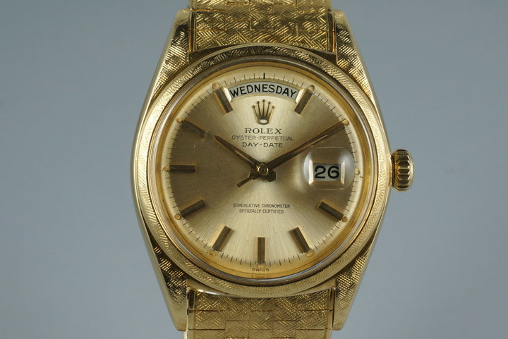 1963 Rolex YG Day-Date 1806 with Morellis Finish photo