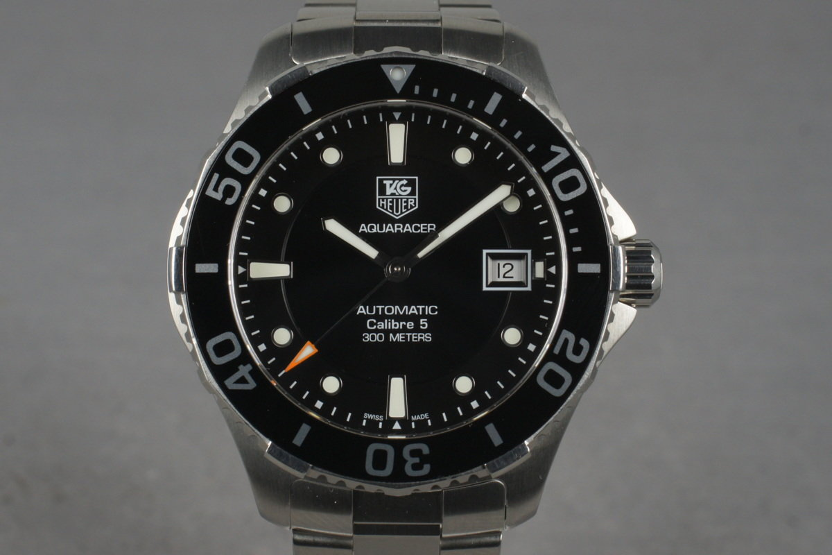 2012 Tag Heuer Aquaracer WAN2110 with Box and Papers photo, #0
