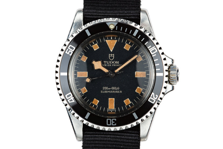 1968 Tudor Submariner Snowflake 7016/0 photo