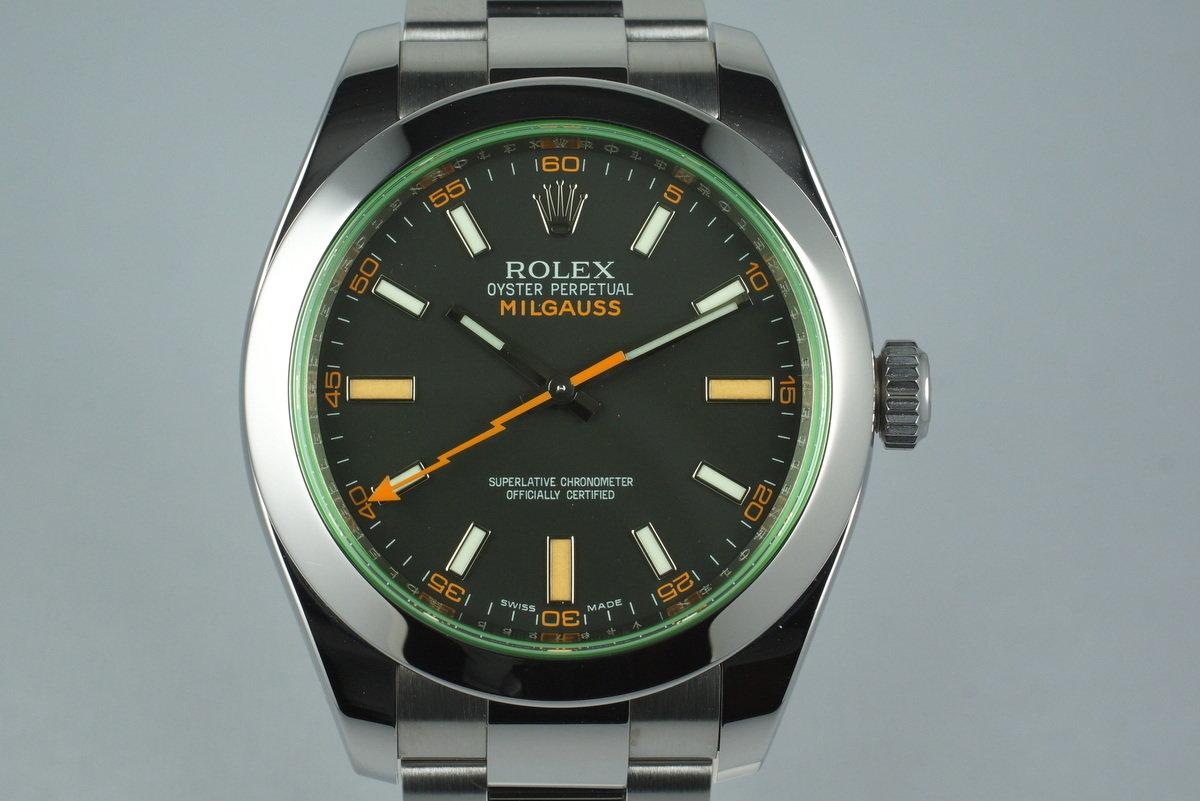 2009 Rolex Milgauss 116400GV photo, #0