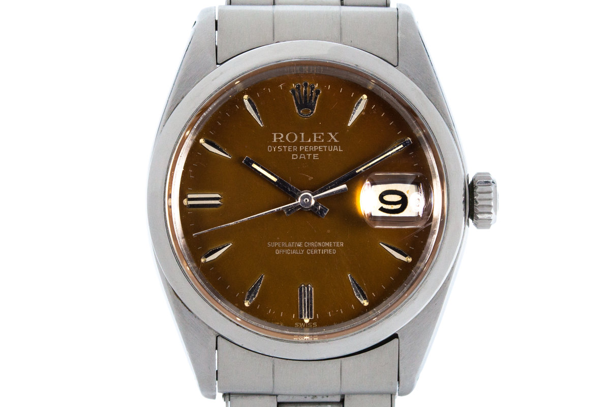 1961 Rolex Date 1500 with Tropical Dial photo, #0