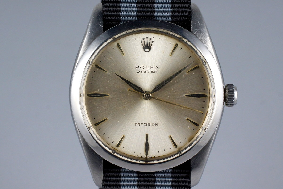 1965 Rolex Oyster Precision 6424 with Silver Dial photo, #0