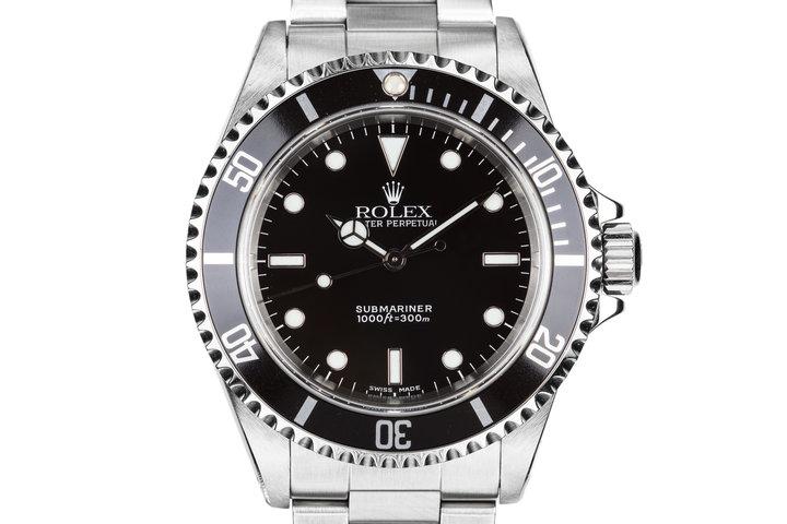2000 Rolex Submariner 14060M photo