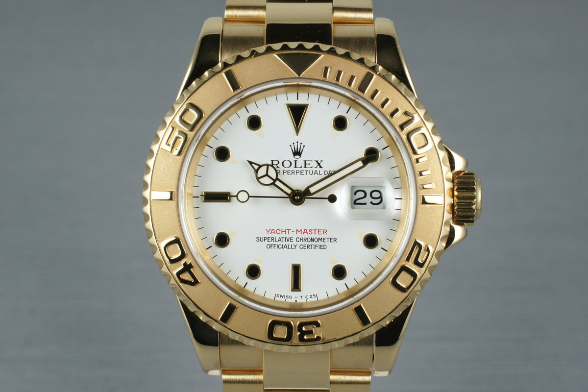 1995 Rolex YG Yacht-Master 16628 photo, #0