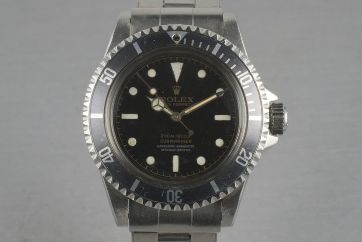 Rolex Submariner  5512 PCG with 4  line chapter  ring dial photo