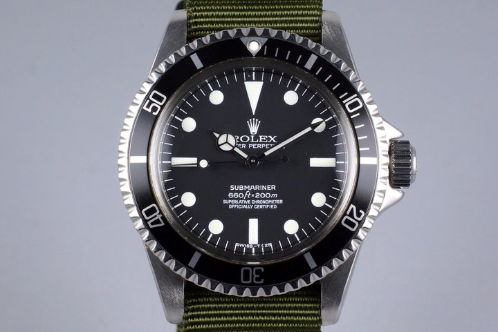 1962 Rolex Submariner 5512 PCG with Service Dial photo