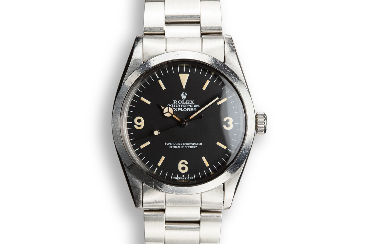 1987 Rolex Explorer 1016 Matte Dial with Box and Papers photo, #0