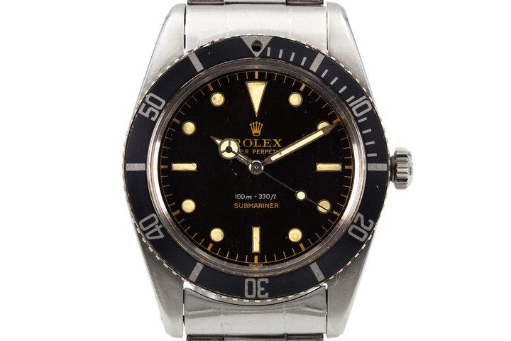1959 Rolex Submariner 5508 photo