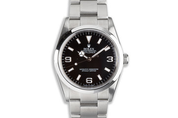 2005 Rolex Explorer 114270 with Box & Papers photo