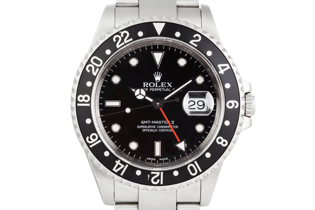 2000 Rolex GMT-Master II 16710 photo, #0