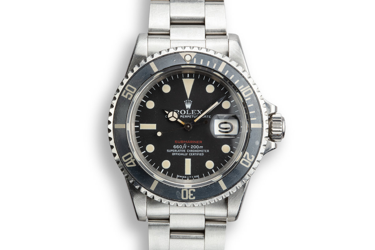 1972 Rolex Red Submariner 1680 with MK V Dial photo, #0