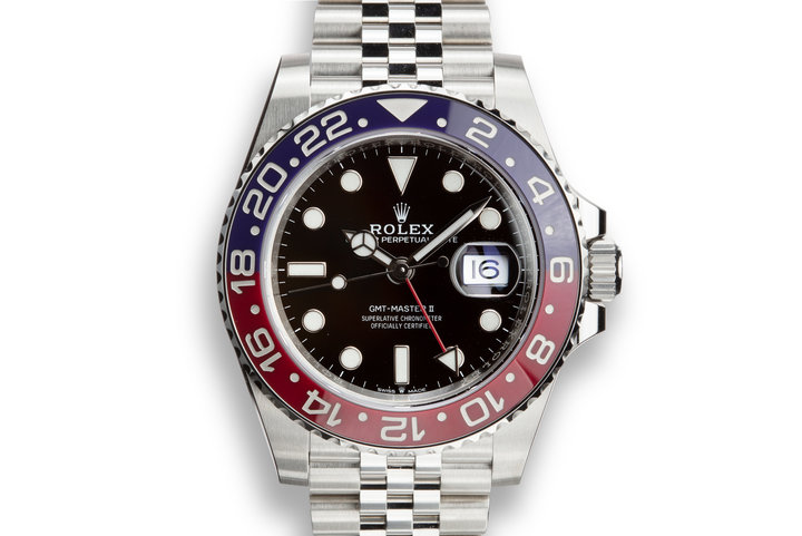 "2018 Rolex GMT-Master II 126710BLRO MK I ""Magneto"" with Box and Papers photo"