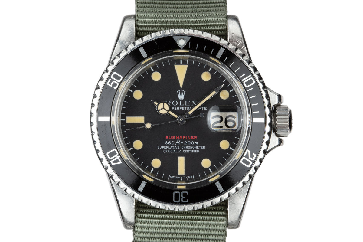 1971 Rolex Red Submariner 1680 with MK IV Dial photo, #0