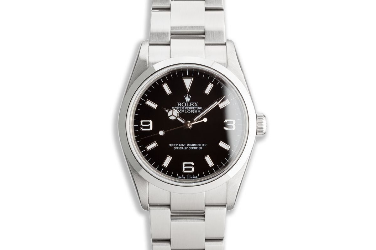 2007 Rolex Explorer 114270 with Box and Papers photo, #0