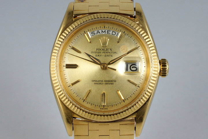 1960 Rolex YG Day-Date 1803 photo