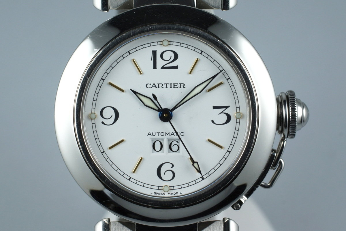 Cartier Pasha 'C' 2475 Big Date photo, #0