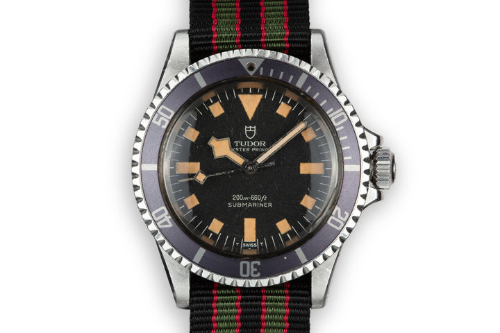 1974 Tudor Marine Nationale Snowflake Submariner 7016/0 photo