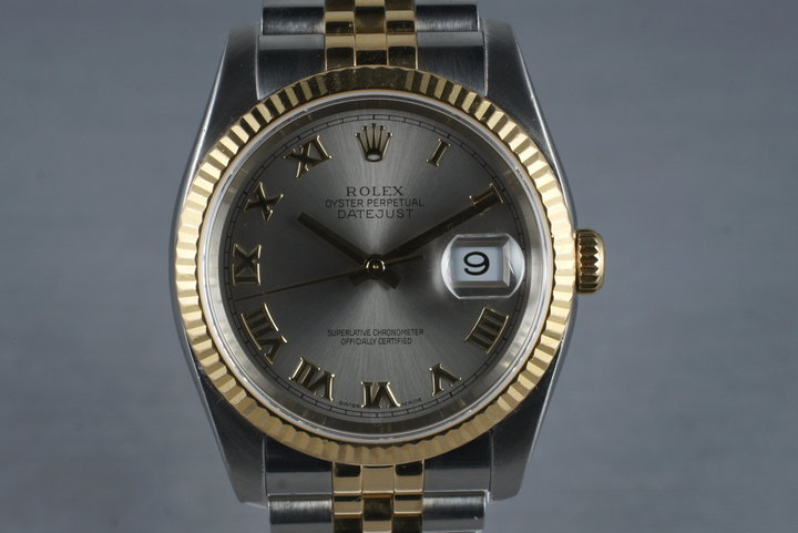 2005 Rolex Datejust 116233 with Box and Papers photo