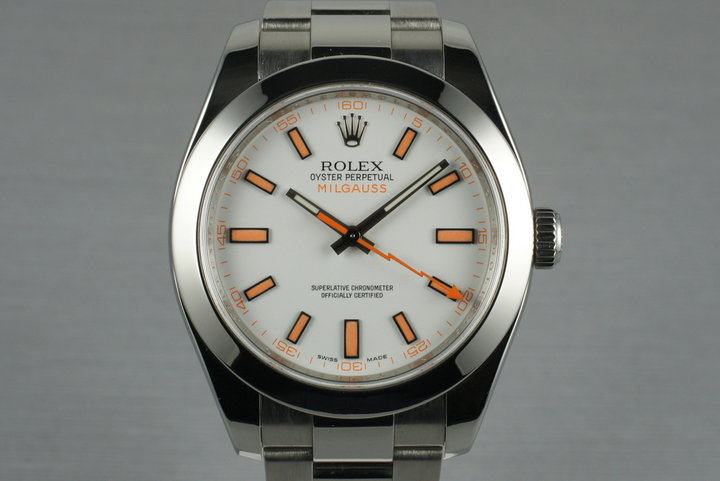 2009 Rolex Milgauss 116400 with Box and Papers photo