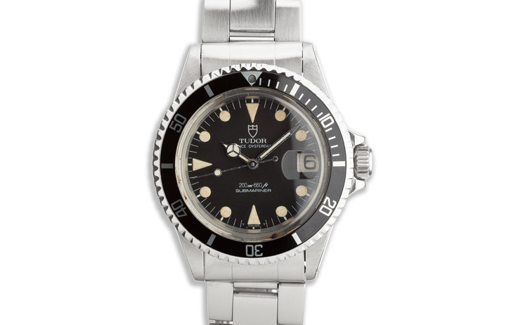 1971 Tudor OysterDate Submariner 76100 Matte Dial photo