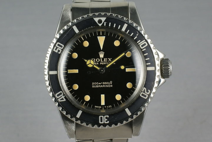Rolex Submariner 5513 GILT Dial photo