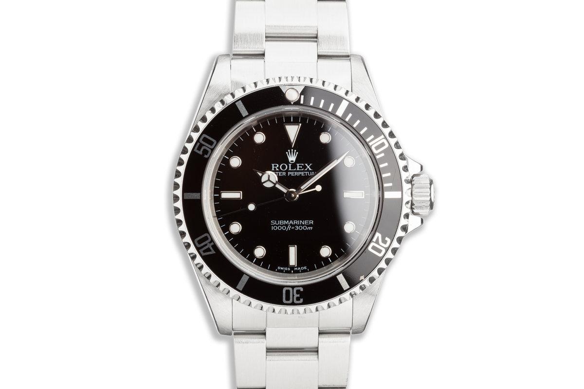 2001 Rolex Submariner 14060M photo, #0