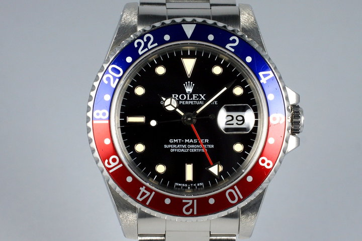 Rolex GMT 16700 Service Case with RSC Papers photo