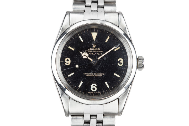 1964 Rolex Explorer I 1016 Gilt Dial photo