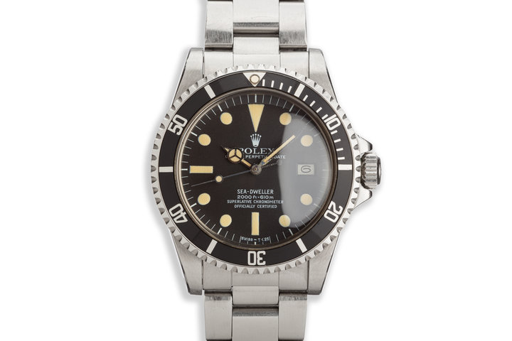 1977 Vintage Rolex Sea-Dweller 1665 photo