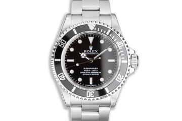 2010 Rolex Four Line Submariner 14060M photo