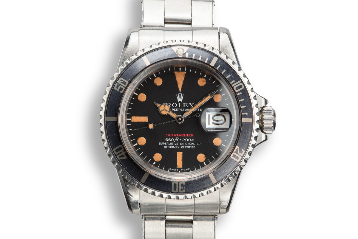 1971 Rolex Red Submariner 1680 with Mark 4 Dial photo, #0