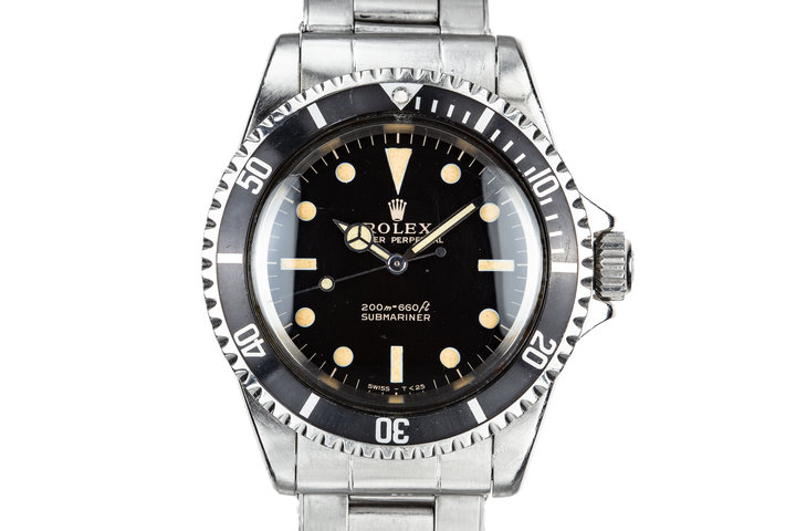 1966 Rolex Submariner 5513 with Gilt Dial photo